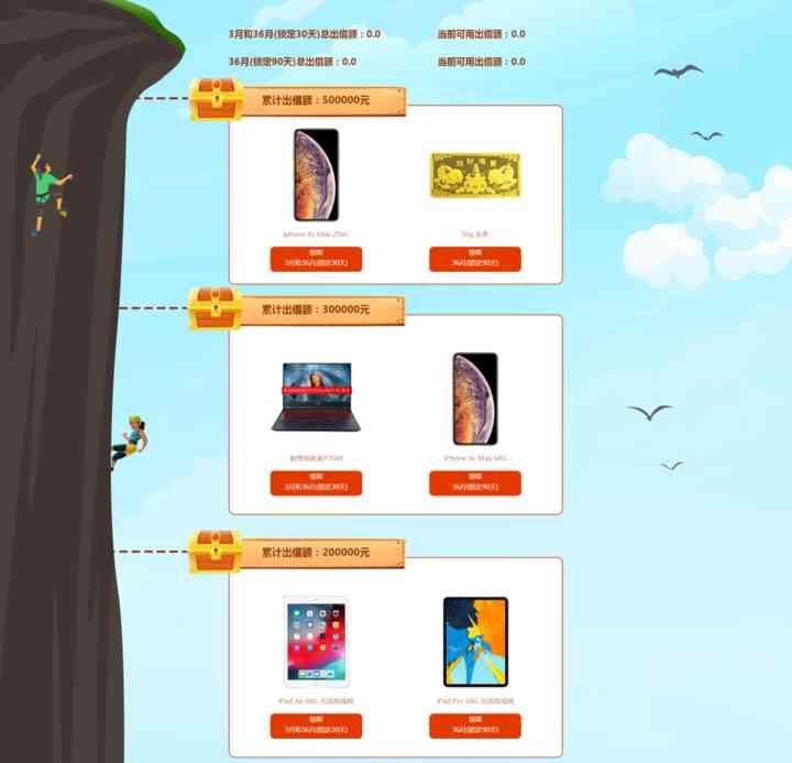 【百金贷】5月登高寻宝藏,出借达标获Iphone Xs Max、ipad Aix